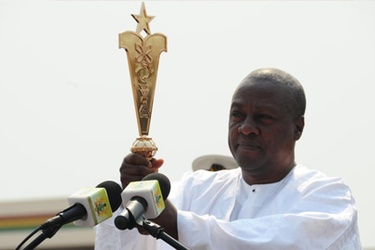 President Mahama goes hi-tech again