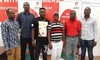 "Airtel Ghana presents cash prizes to 15 winners in the ""Wo Mmere Nie"" promotion"