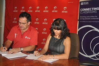 Airtel, British Council sign digital learning MOU