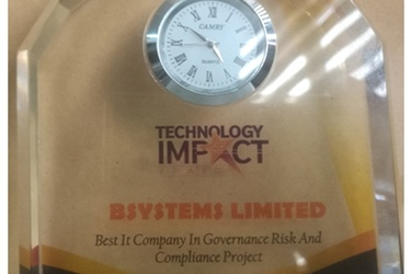 Bsystems wins Best IT Company Award with GVIVE online ID Verification solution