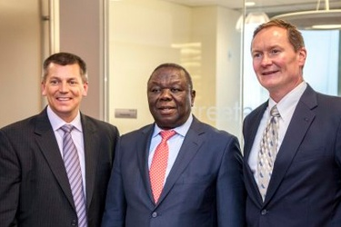 Tsvangirai visits Chicago business for talks
