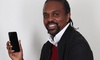 Azimo hands over $125,000 cheque to football legend Kanu for his life-saving children's charity