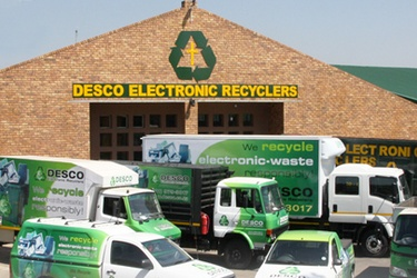 Desco Electronic Recyclers wins 2013 Africa Green Excellence Award