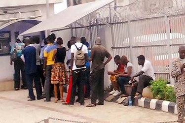 Long queues move to ATM sites