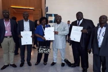 Team Ghana wins three awards at ITU Telecom World 2017
