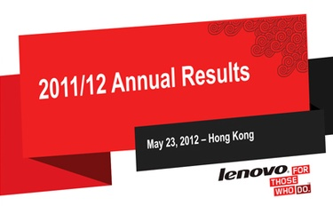 Good emerging market growth for Lenovo