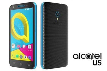 "Alcatel Introduces U5, the Most Affordable 5"" 4G Smartphone"