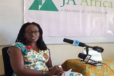 Chief Executive Officer of JA Africa, Elizabeth Bintliff