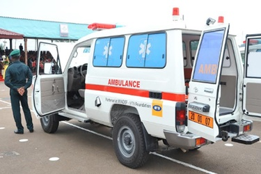 MTN Foundation donates three ambulances in Cameroon