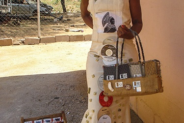 Innovative designer takes e-waste to another level