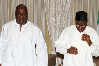 Ghana, Nigeria Presidents meet for talks