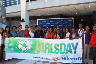 Namibia marks Girls in ICT Day