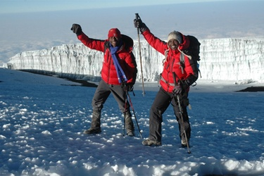 dotAfrica welcomes home Trek4Mandela climbers