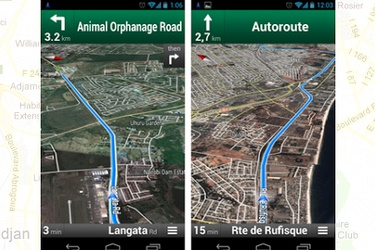 Google Maps voice navigation in 4 countries
