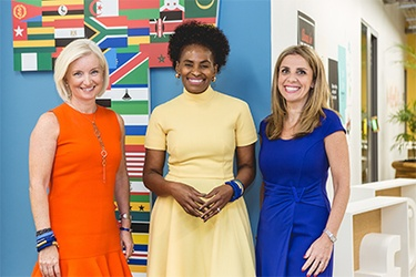 Carolyn Everson – VP Global Marketing, Nunu Ntshingila – Regional Director Africa, Nicola Mendelsohn – VP EMEA