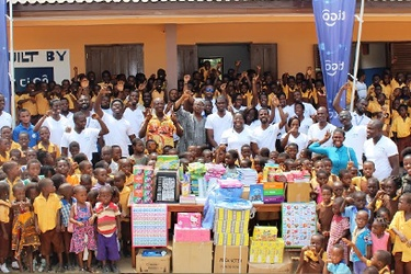 Love comes to pupils of Tigo's Shelter 4 Education Project