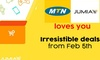 Jumia partners with MTN to show love to customers