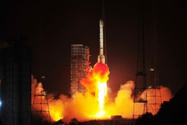 Liftoff for Nigeria's new satellite