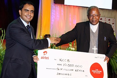 Airtel takes Platinum spot sponsorship ahead of Pope's visit to Kenya