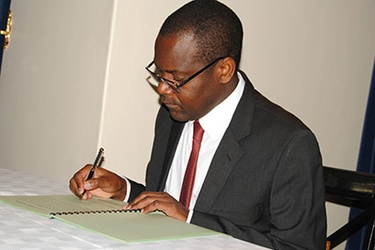 Minister of Justice and Constitutional affairs Samuel Tembenu