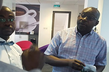 Multichoice Ghana General Manager Cecil Sunkwa Mills