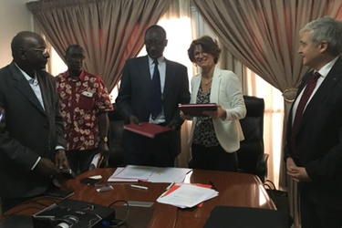 ENGIE signs renewable energies agreement in Senegal