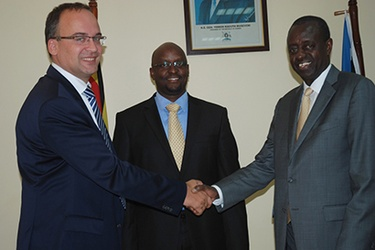 Airtel Uganda MD meets Minister of ICT
