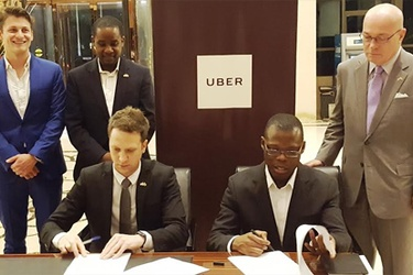 Uber signs MoU with Ghana's Transport Ministry
