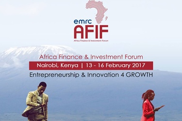 Africa Finance & Investment Forum (AFIF) 2017 to take place in Kenya for the first time