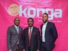 Konga Chairman Olusiji Ijogun (middle) with dual CEOs Nick Imudia (left) and Prince Nnamdi Ekeh