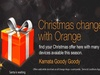 Orange launches Christmas goody specials