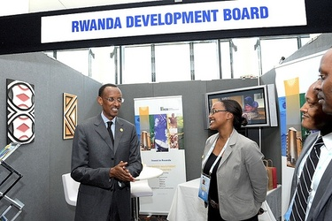 President Paul Kagame and the RDB in Perth
