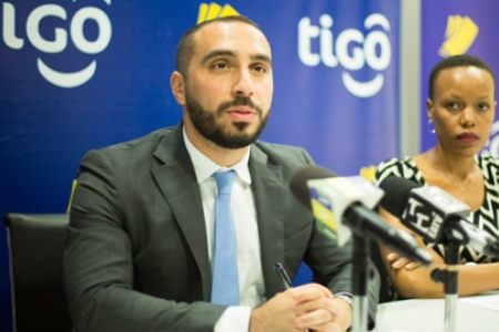 Tigo Tanzania's Chief Officer for Mobile Financial Services, Hussein Sayed