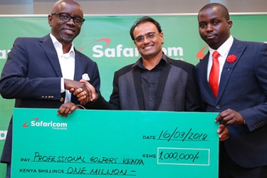 Professional Golfers of Kenya partner with Safaricom for tournament management software