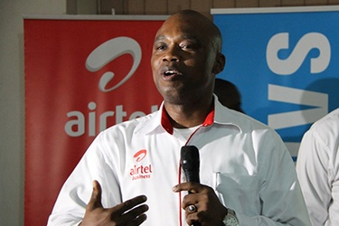 Enterprise Director, Airtel Uganda, Mr. Oladapo P. Sorinolu