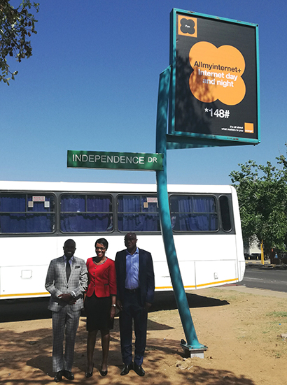 Pioneering nationwide Street Finders project launched in Botswana