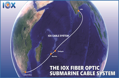 New open cable to connect Mauritius, Rodrigues islands to SA and India