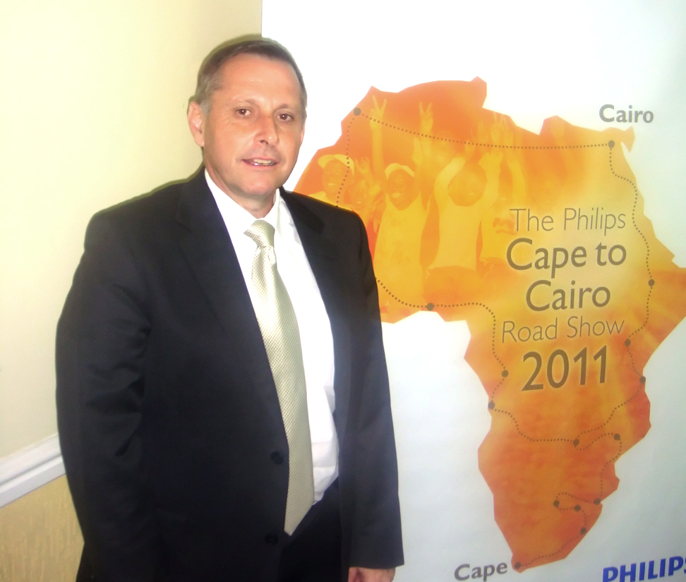 General Manager Philips Healthcare Africa & Country Manager Philips South Africa, JJ van Dongen