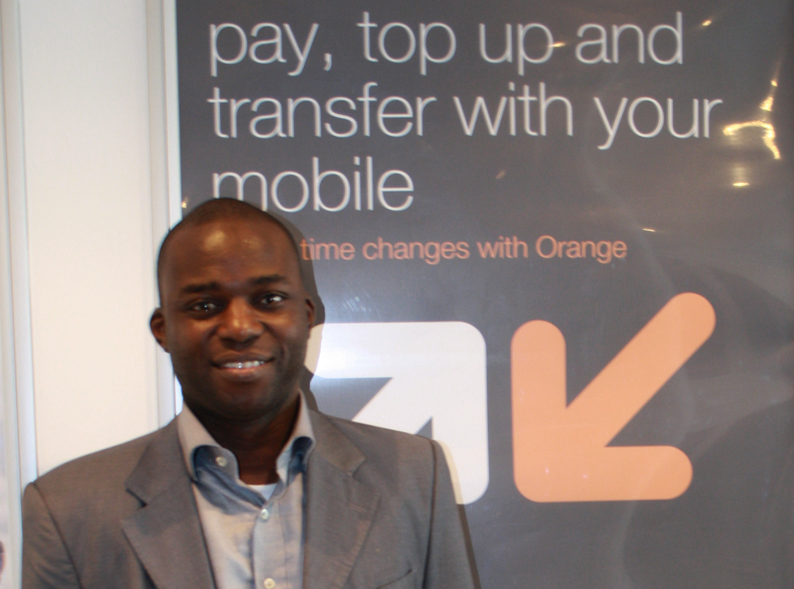 The Head of Orange Money in Botswana, Moussa Dao