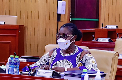 Ghana's Parliament suspends appointment of Communications and Digitization Minister