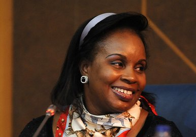Fatou Ndiaye Diop Blondin, Senegal's Minister of Information and Communication Technologies