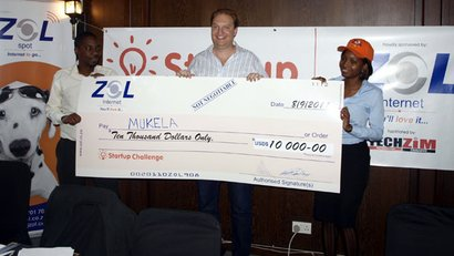 Mukela wins Zim's first Start-Up challenge