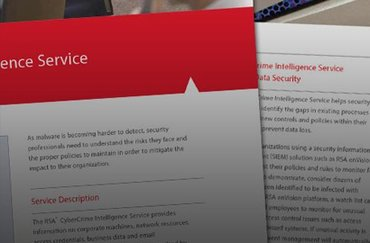 RSA research reveals blind spots in threat detection