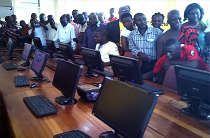 MTN, UNDP open Techimantia ICT centre