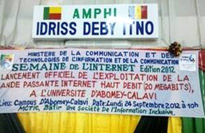 Benin university gets high speed bandwidth