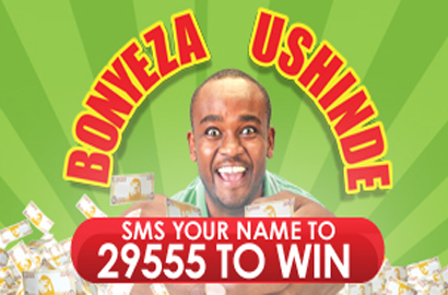 Safaricom Bonyeza Ushinde Promotion is back