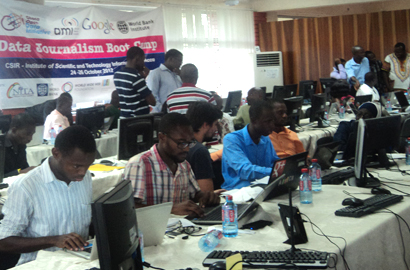 Ghana's journalists get data boot camp
