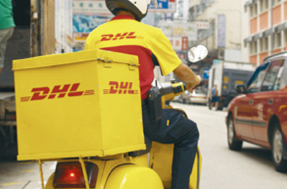 DHL motorcycle couriers get Bluetooth