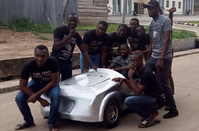 Nigerian students in electric car crowdfunding drive