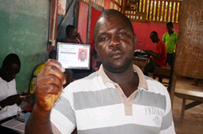 Ghana voter reg on track to end May 5